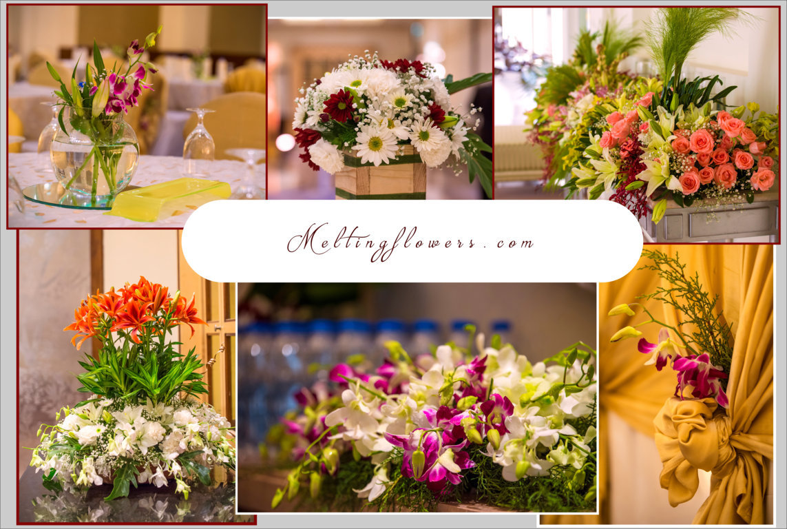 Floral decoration for your d day wedding decorations for Decoration flowers