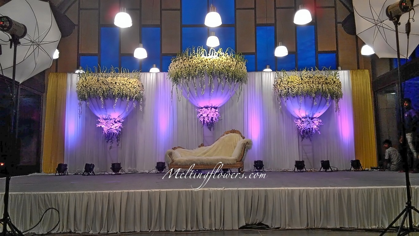 Best Florist Bangalore Wedding Stage Decoration