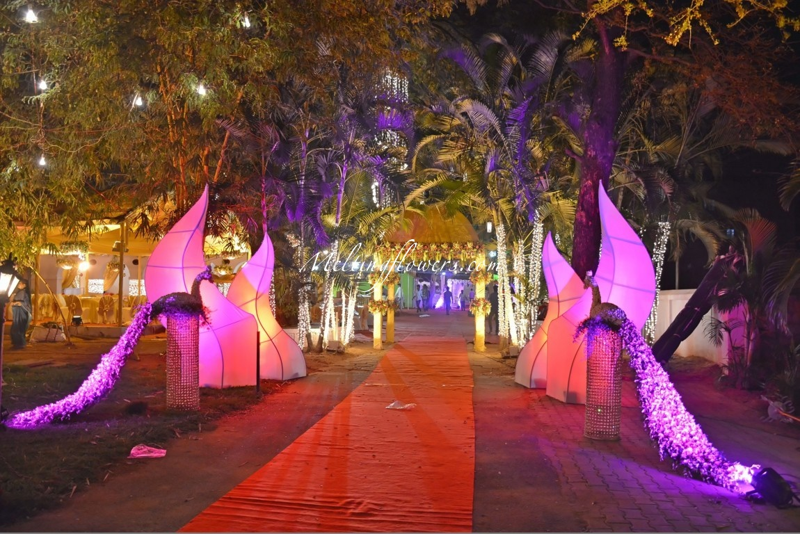Ideas for decorating the entrance beautifully wedding for Ideas for your wedding