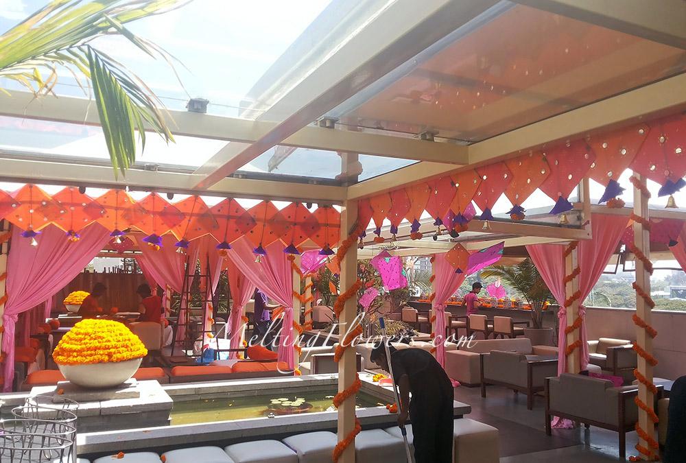 mehndi and sangeet decor