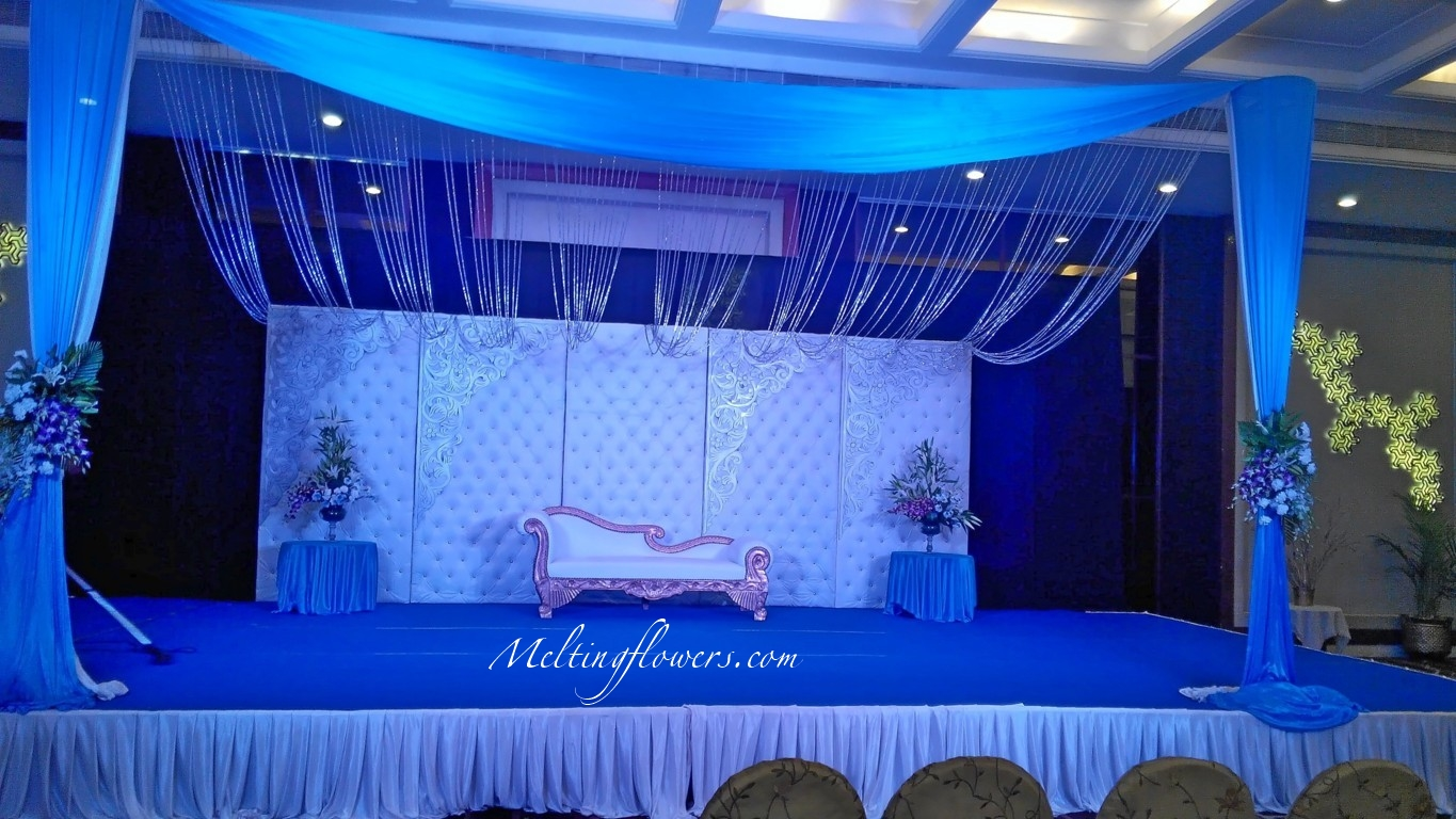 Wedding stage decoration the top 5 ideas for your for Backdrops decoration