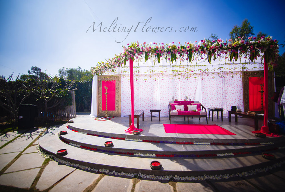 indian theme wedding decorations