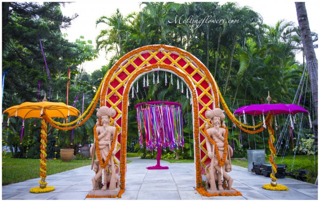 The Eastman Themed Wedding Indian Theme Wedding Decorations