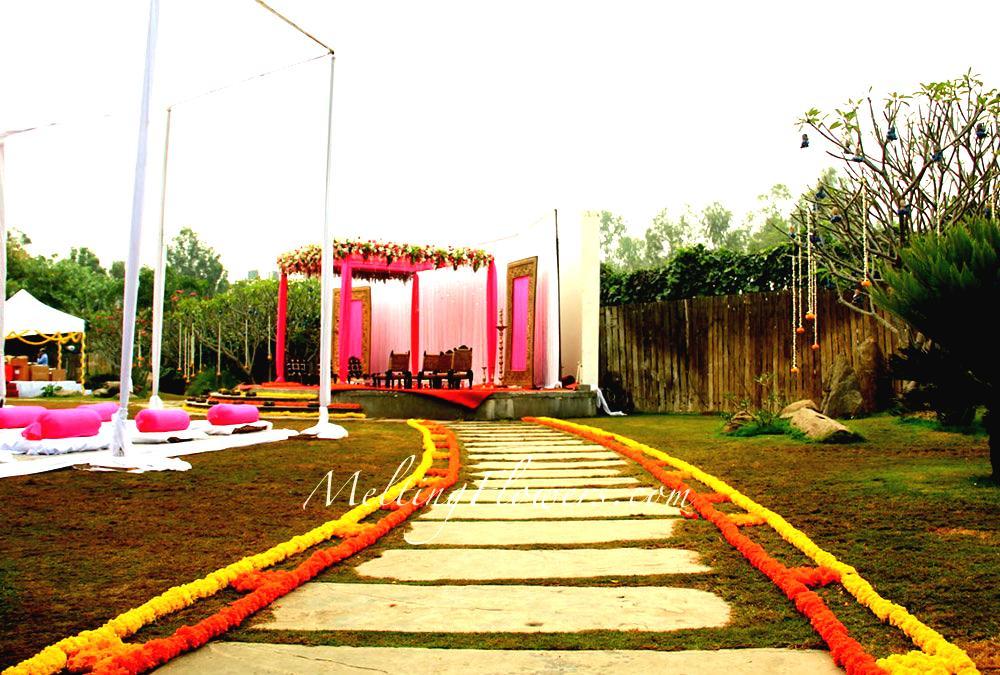 Decoration Ideas At A Beautiful Wedding