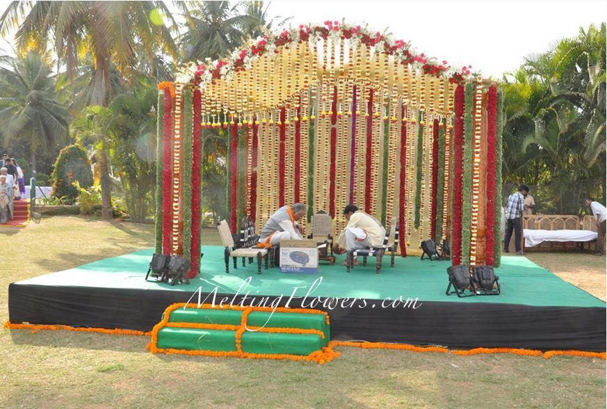 wedding stage decoration bangalore