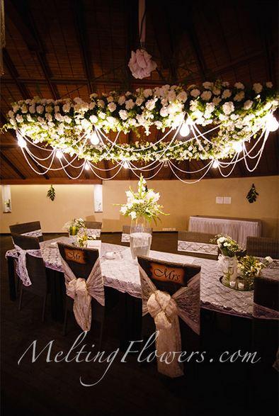 Phenomenal Wedding Adornments With A Splash Of White