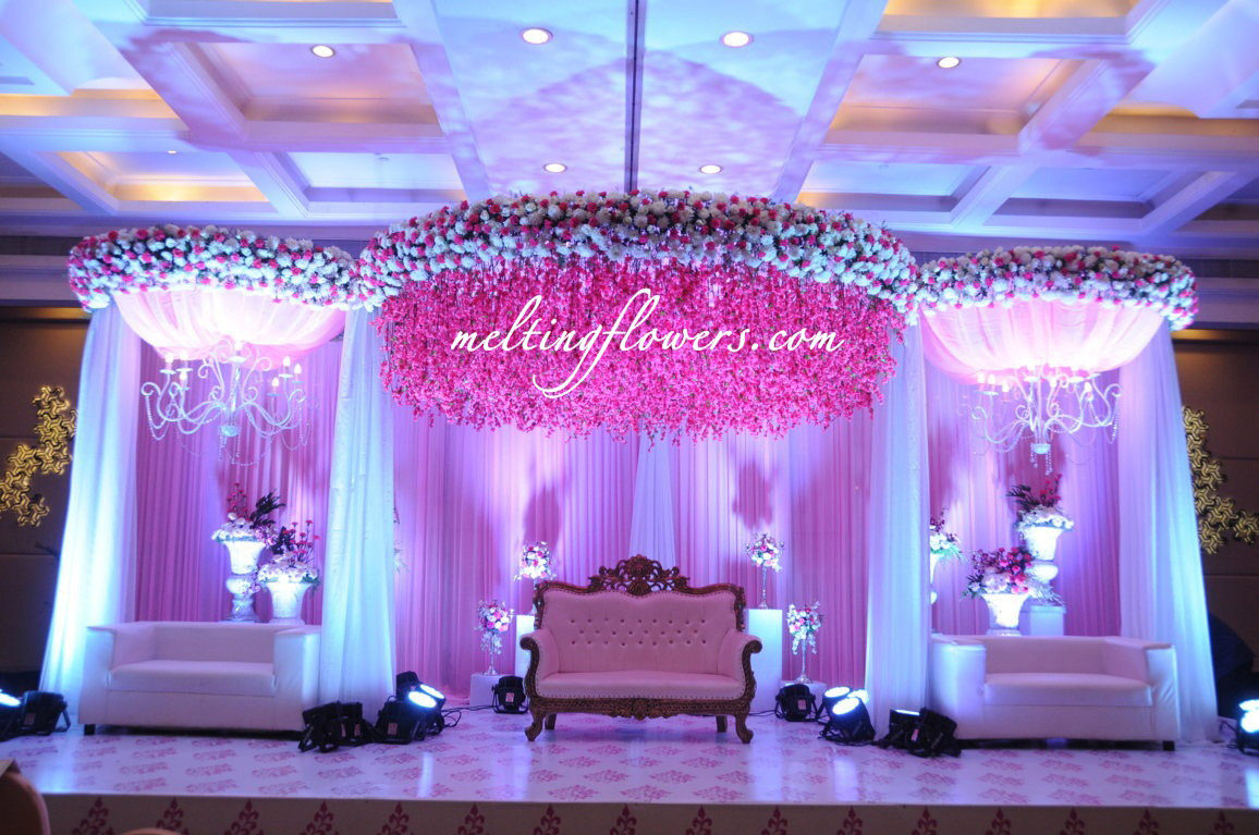 Wedding decoration pictures wedding decorations flower decoration le meridien best wedding hotels in bangalore junglespirit Image collections