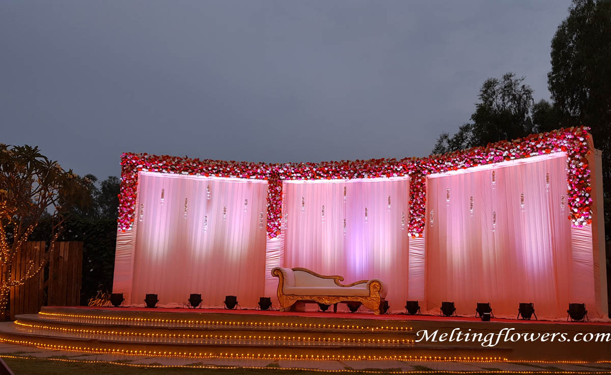 Excellent Ideas To Try To Wedding Stage Decoration | Wedding Decorations,  Flower Decoration, Marriage Decoration | Melting Flowers Blog