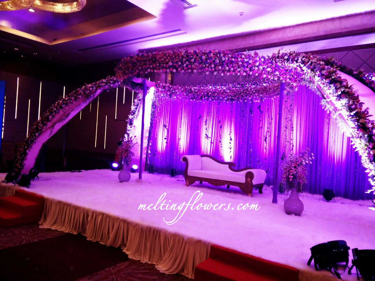 Reception Hall Decorations. Sheraton Grand Hotel Bangalore Unique Ideas To Decorate Reception Halls  Wedding Decorations