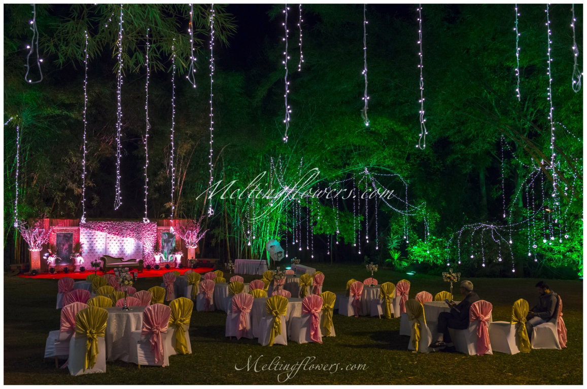 Best Place For Outdoor Wedding Decoration Miraya Greens Bangalore