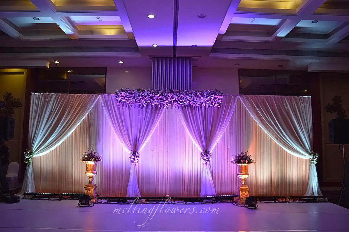 Home Wedding Decorations Reception Stage Decoration With Latest Props Le Merin Bangalore