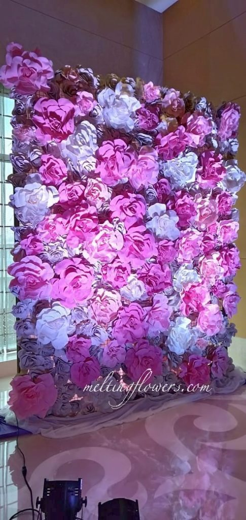 floral backdrop photo booth decorations