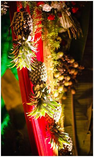 Fruits Theme Wedding Decorations