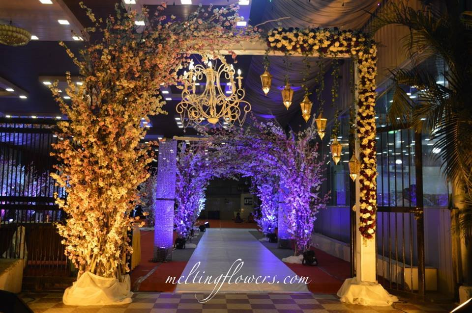 Flower Entrance Decoration