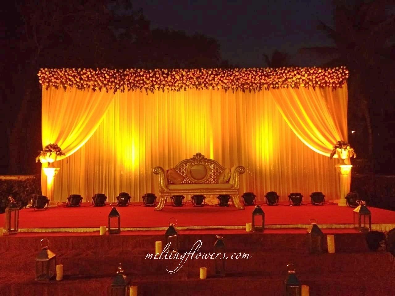 Recption Stage Decoration Mysore
