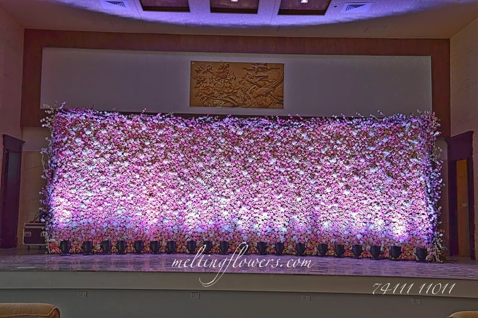 Floral Wedding Stage Decorations