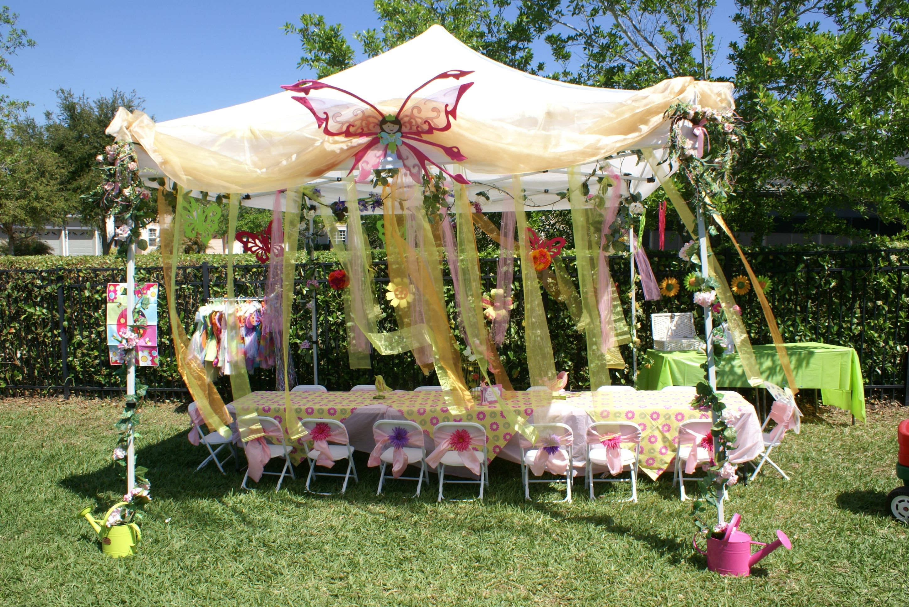 Birthday Decoration For Outdoor Venues
