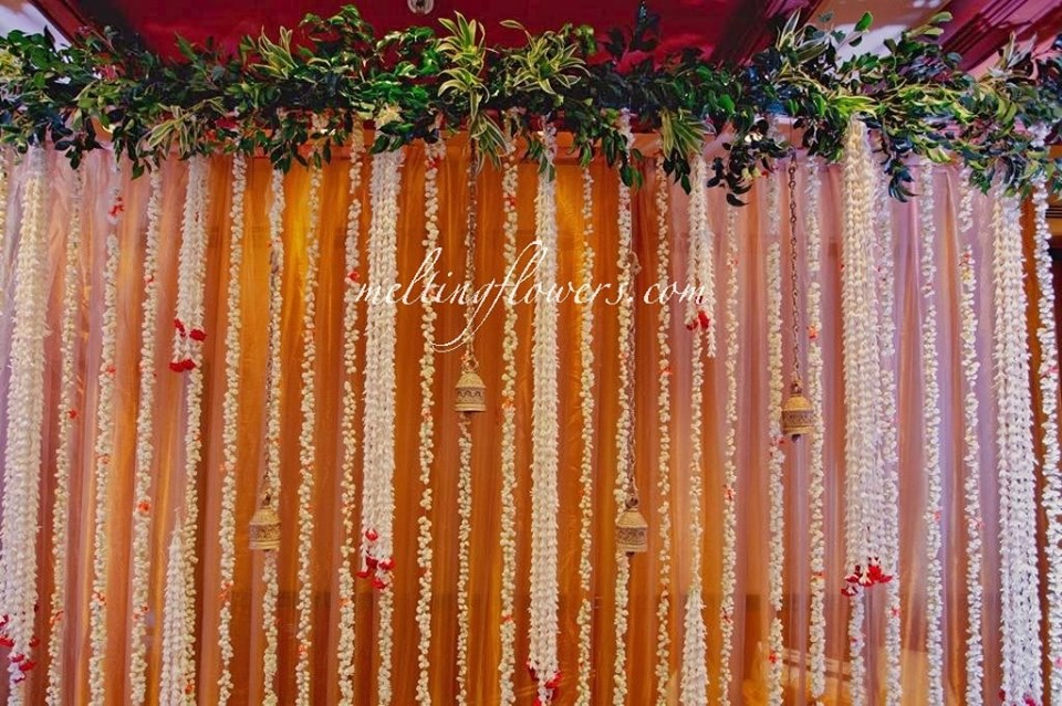 wedding floral embellishments