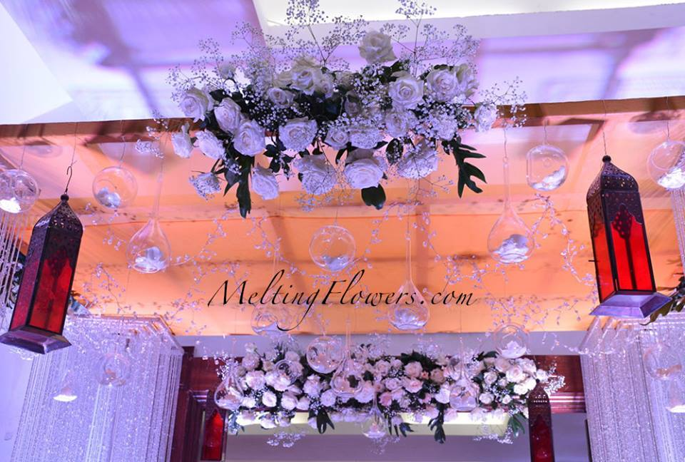 overhead entrance decor