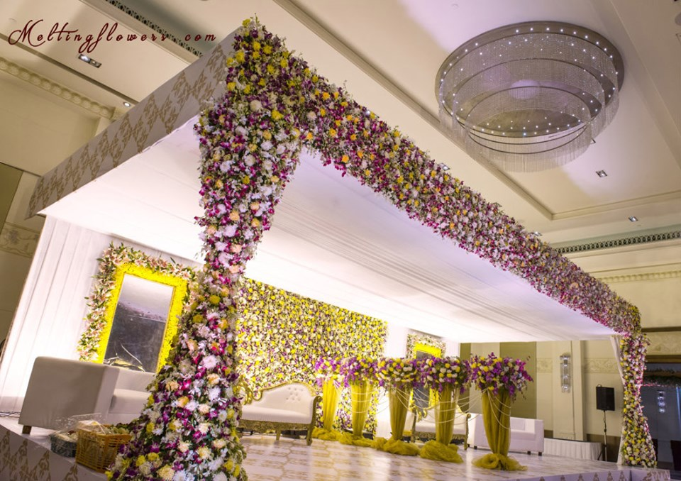 Influx of flower decoration for events