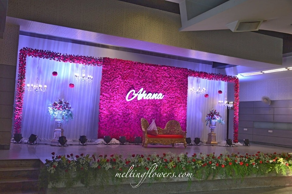 flower stage decoration