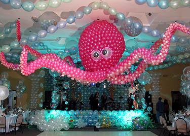 Octopus Balloon Decor Wedding Decorations Flower Decoration Marriage Decoration Melting Flowers Blog