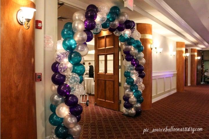 balloon decor ideas for birthday