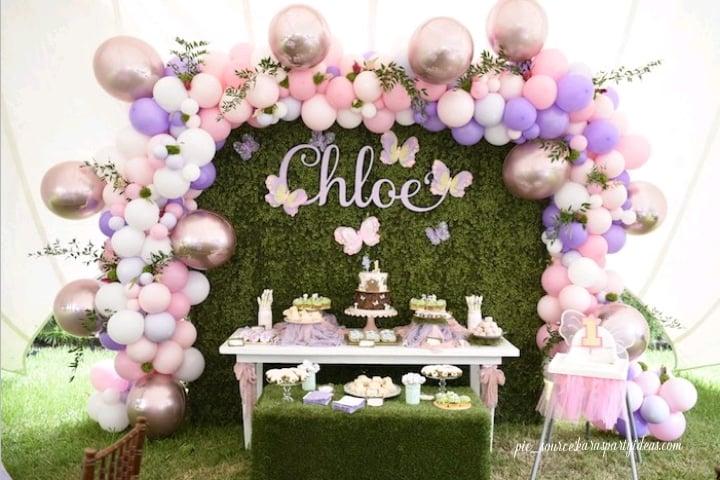 birthday backdrop decoration