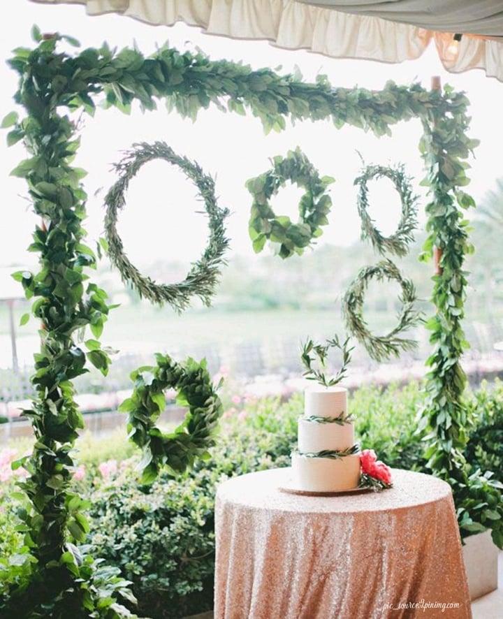 floral vine frames decor