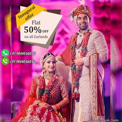 Flower Garland & Wedding Garland In Bangalore