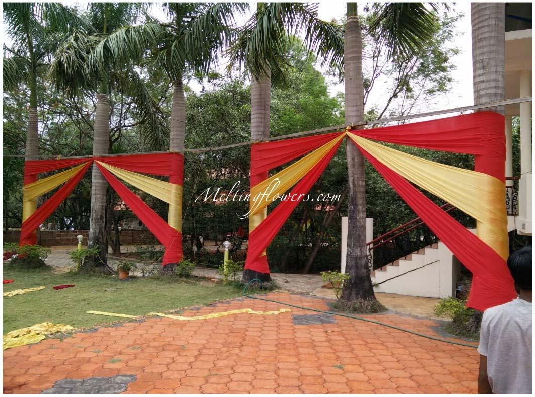 Wedding tents bangalore wedding drapes bangalore melting flowers drapes decoration wedding drapes decoration junglespirit Images