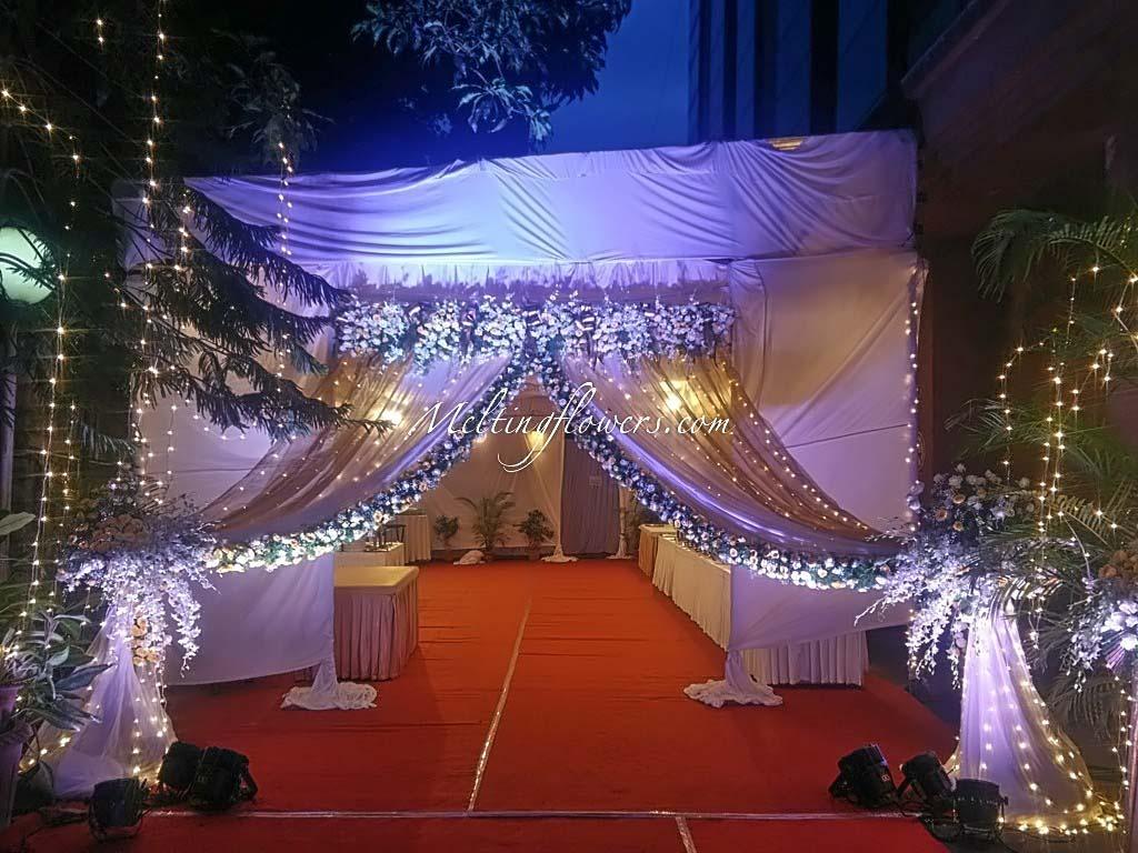 Wedding Decoration For Entrance
