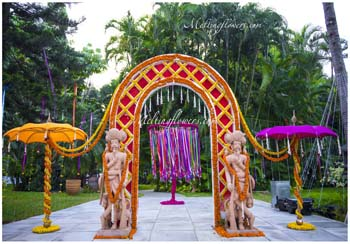 Wedding decoration pictures flower decoration for for Decoration job in mumbai