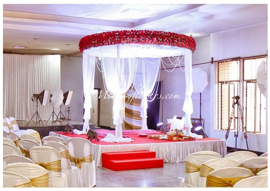 Mandap Decorations   Wedding Mandap   Mandap Flower decorations ...
