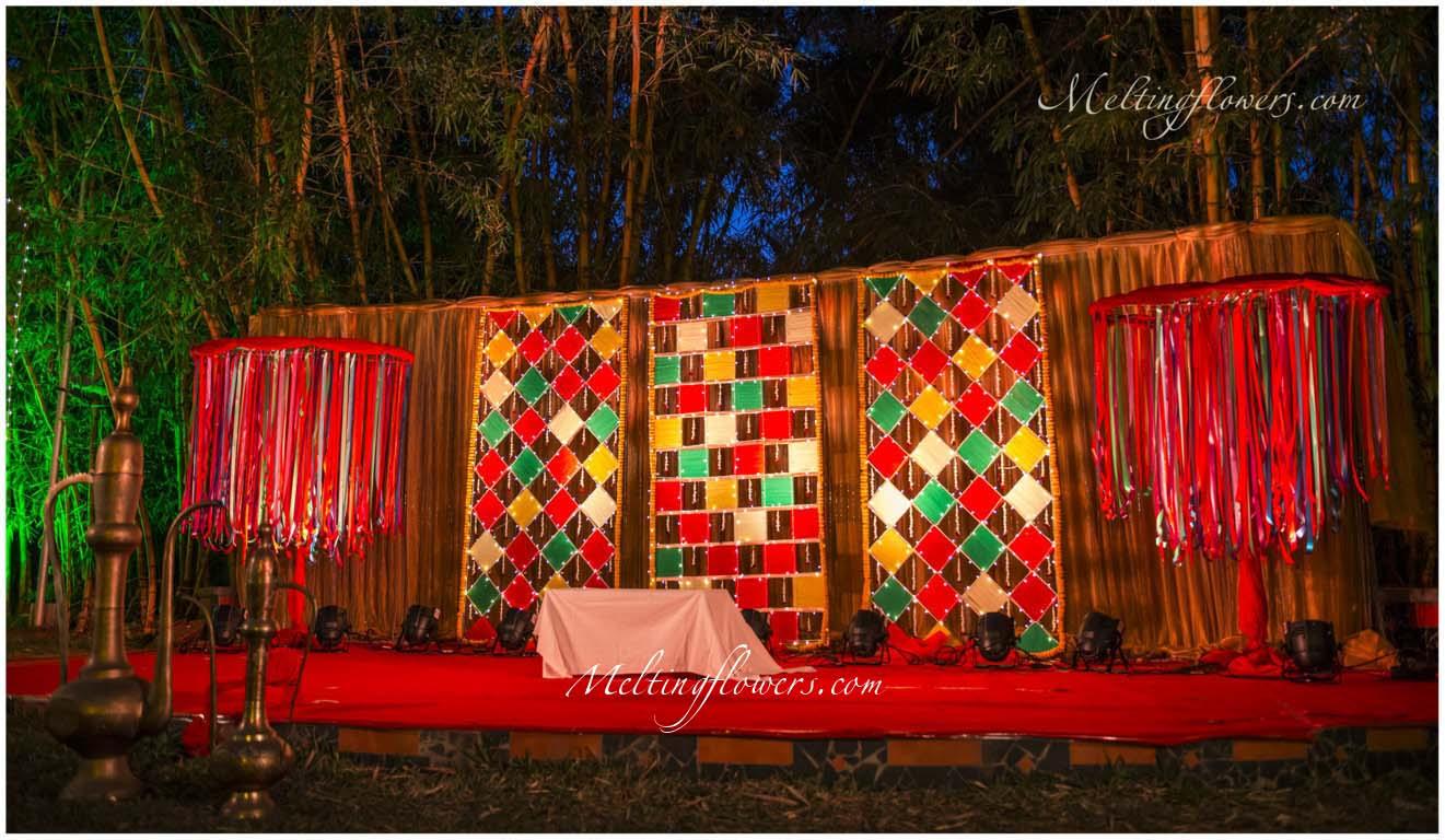 Mehndi and sangeet d cor mehndi decorations sangeet - Decoration dessin ...
