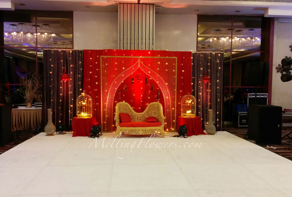 Mehndi Decoration At Home With Flowers : Mehndi and sangeet décor decorations