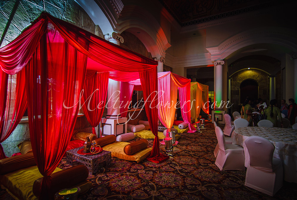 Mehndi And Sangeet Decor