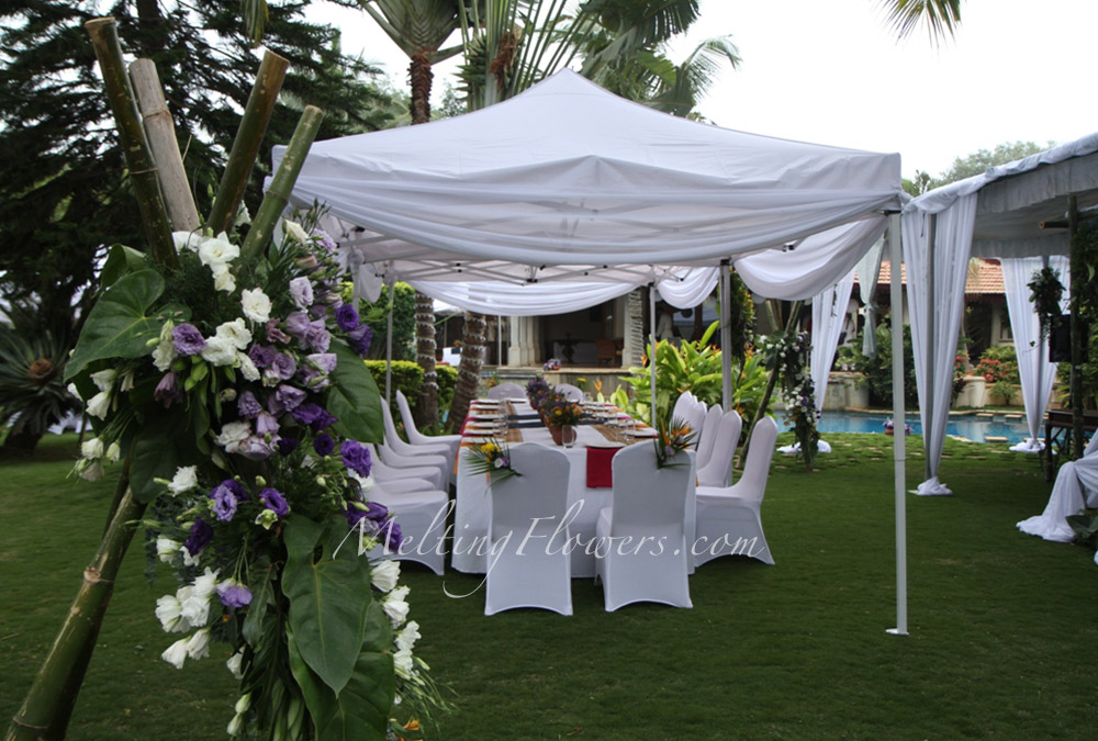 Outdoor Engagement Party Decorations