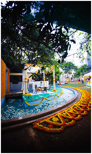 Marigold Wedding Theme Bangalore