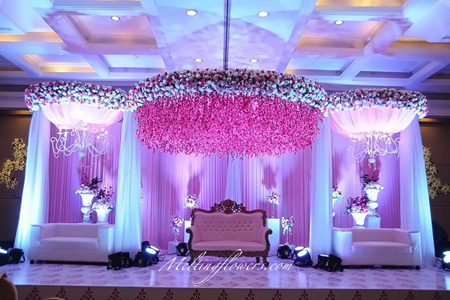 wedding backdrop decoration wedding stage decoration reception stage decoration melting. Black Bedroom Furniture Sets. Home Design Ideas