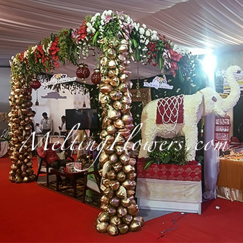 Flower decoration pictures floral designers flower decoration flower decoration pictures leading floral wedding decorators junglespirit Images
