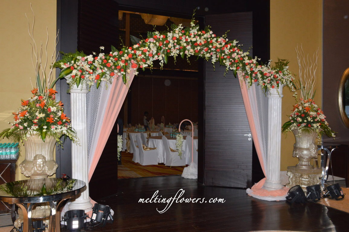 wedding venue decoration ideas jw marriott hotel bangalore is a best wedding hotels in 1206