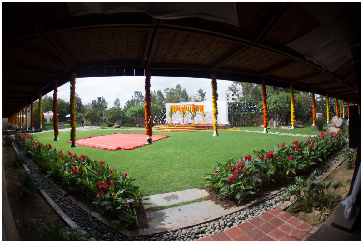 Templetree Leisure Outdoor Wedding Venues In Bangalore Resorts